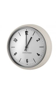 Retro zegar ścienny Vintage Cuisine - krem