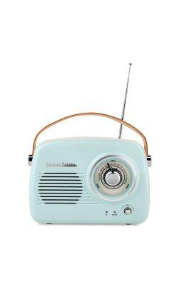 Retro radio z głośnikiem bluetooth Vintage Cuisine - mięta